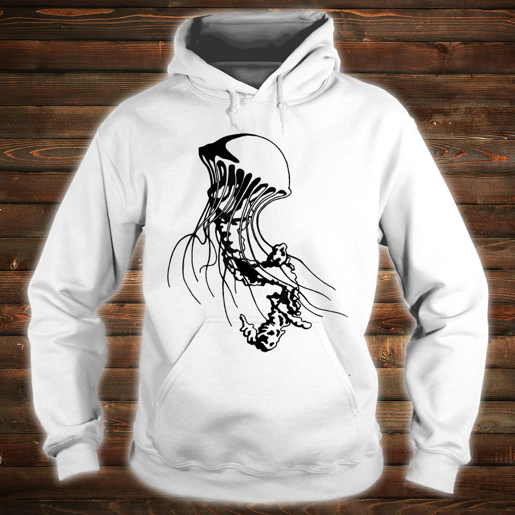 Jellyfish Black Sea Nettle Animal Series Inkomancer Shirt hoodie