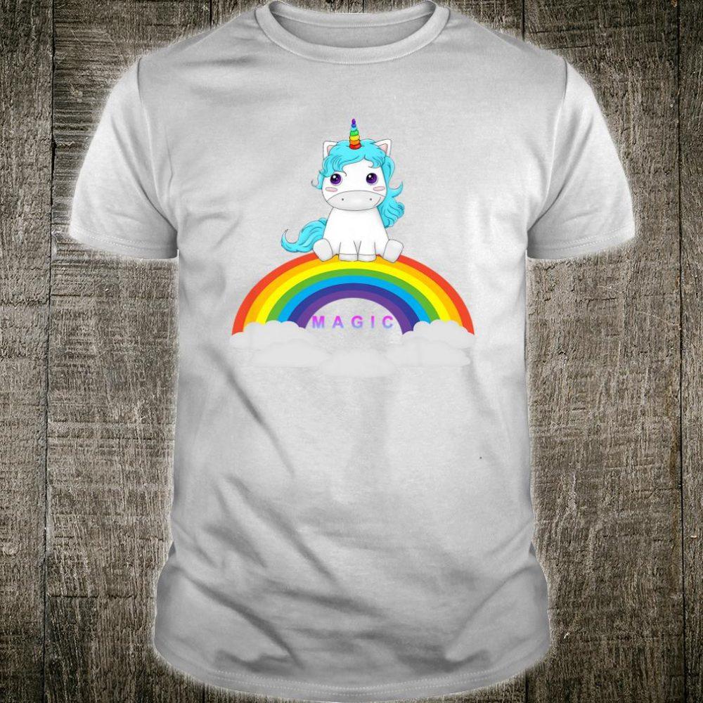 Kids Rainbow Unicorn Shirt