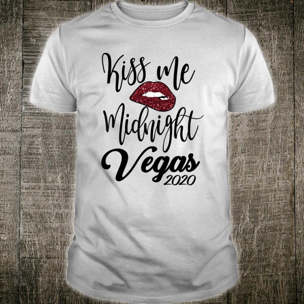 Kiss Me Midnight 2020 New Year Sexy Lips Vegas 2020 Shirt