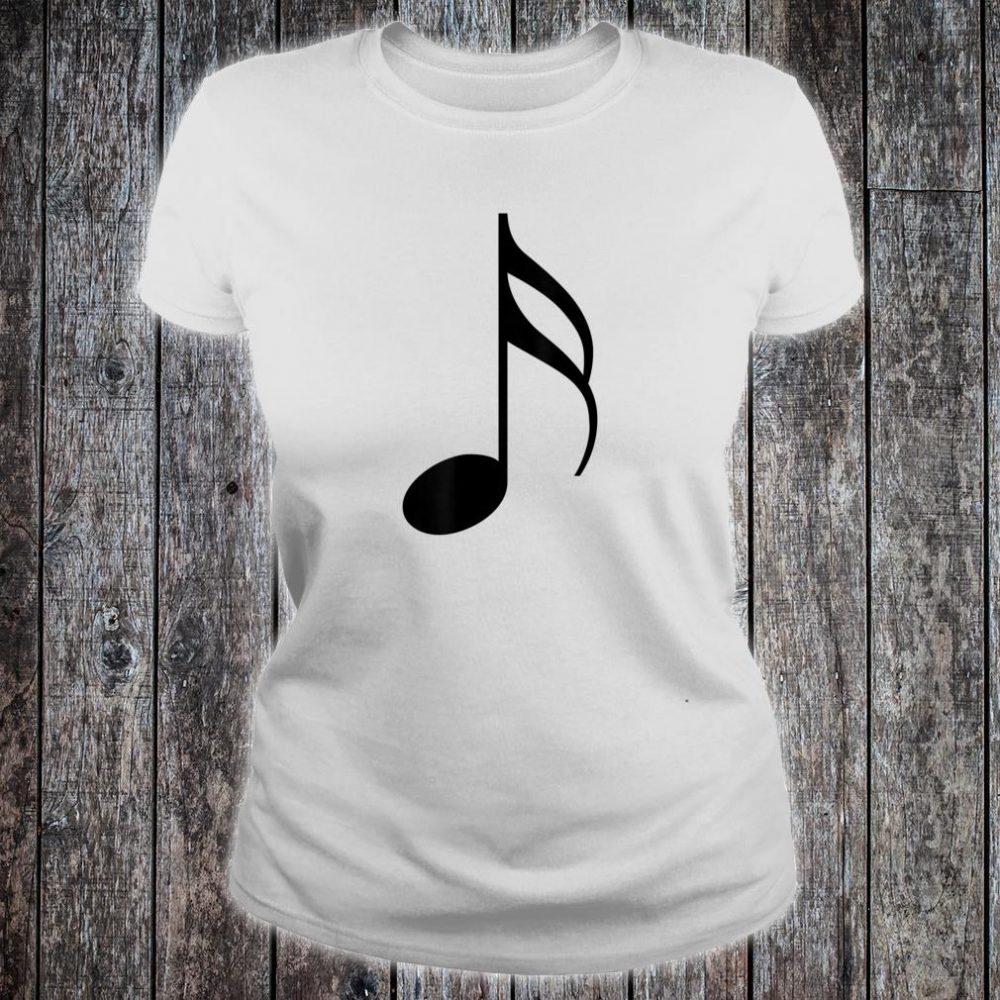 MUSIC NOTE, MUSICAL Shirt ladies tee
