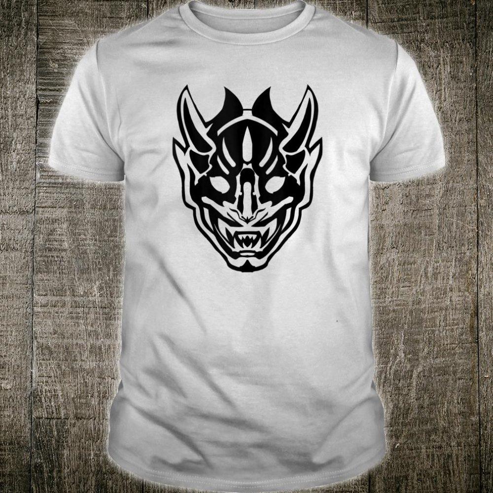 Oni mask Japanese Style Shirt