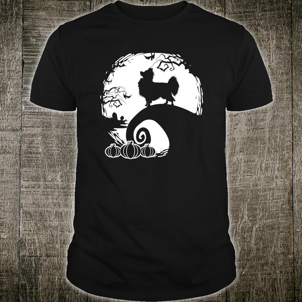 Papillon And The Moon Spooky Halloween Costume Shirt
