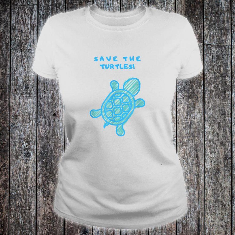 Save the turtles Shirt ladies tee