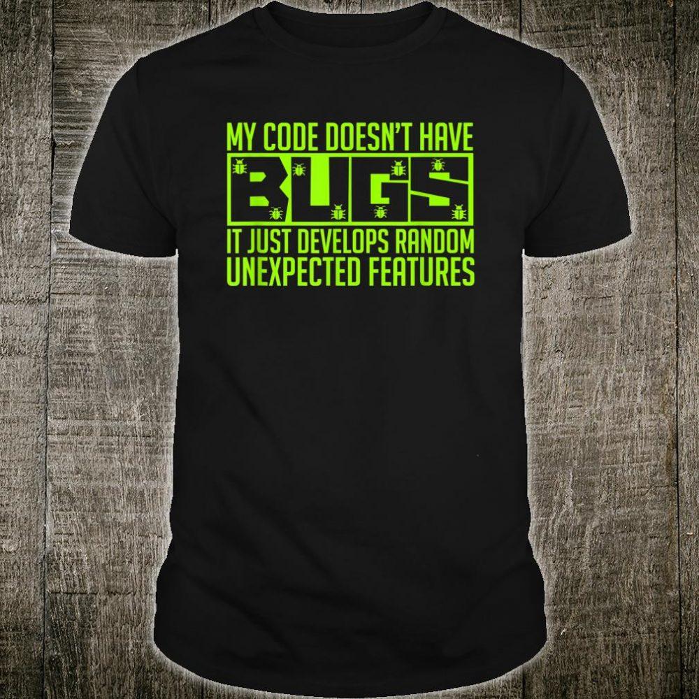 Software Engineer Programmer Developer Shirt