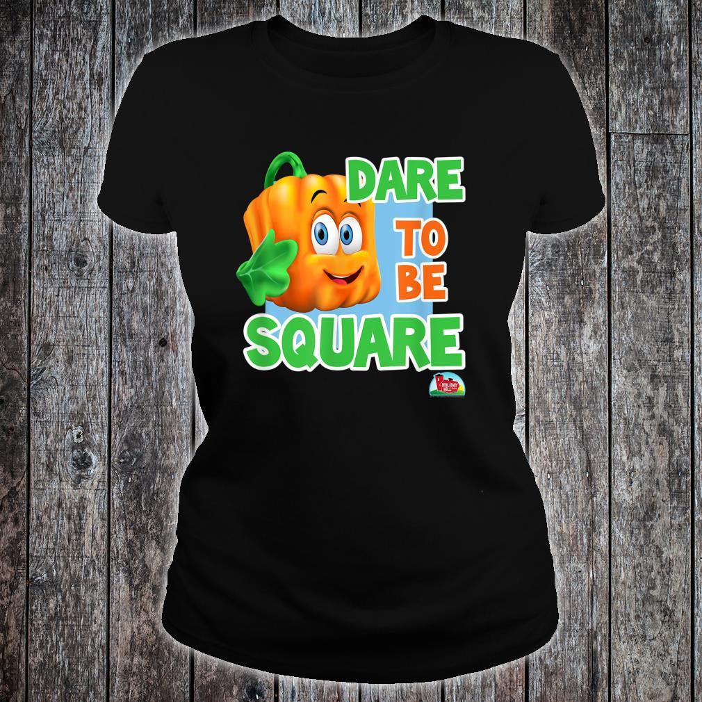 Spookley the Square Pumpkin Dare to be Square Shirt ladies tee