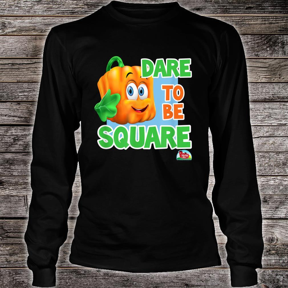 Spookley the Square Pumpkin Dare to be Square Shirt long sleeved