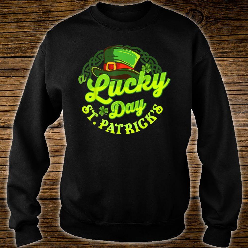 St Patrick's Day A Lucky Day St Patrick's Shirt sweater
