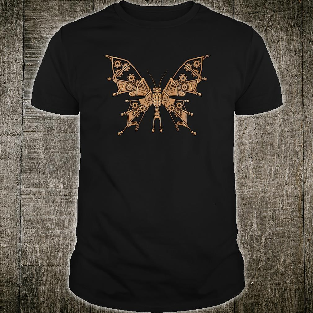 Steampunk Butterfly Animal Shirt