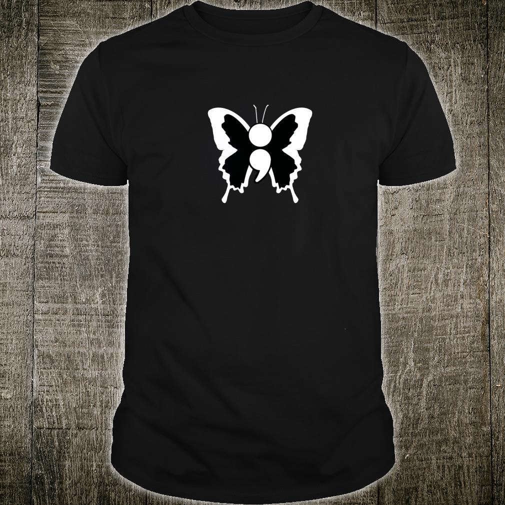 Suicide Awarenesses Butterfly Shirt