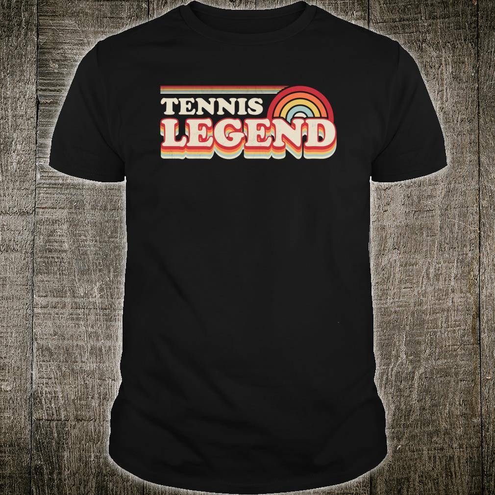 Tennis Design, Tennis Legend Shirt
