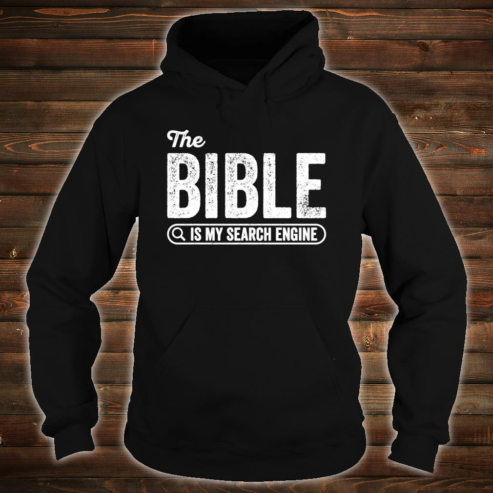 The Bible Book for Evangelical Christian IT Shirt hoodie