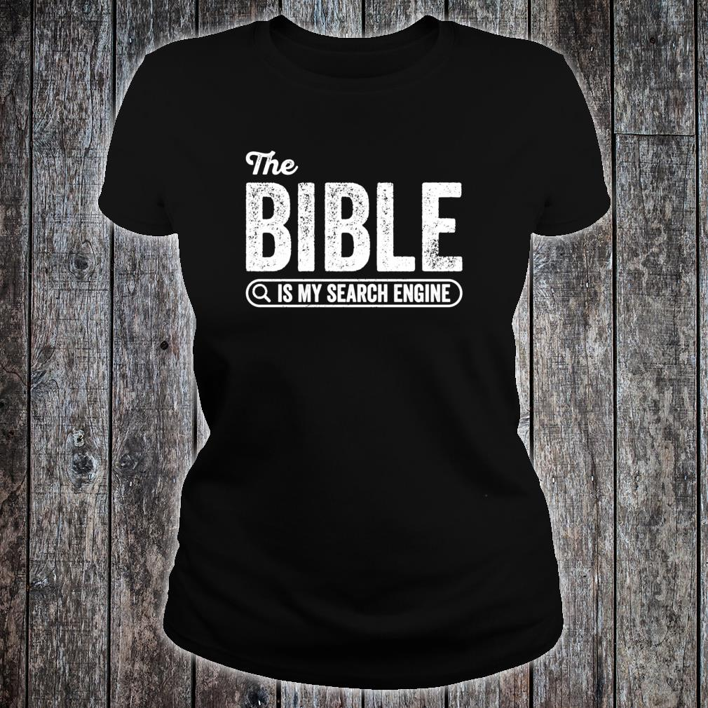 The Bible Book for Evangelical Christian IT Shirt ladies tee