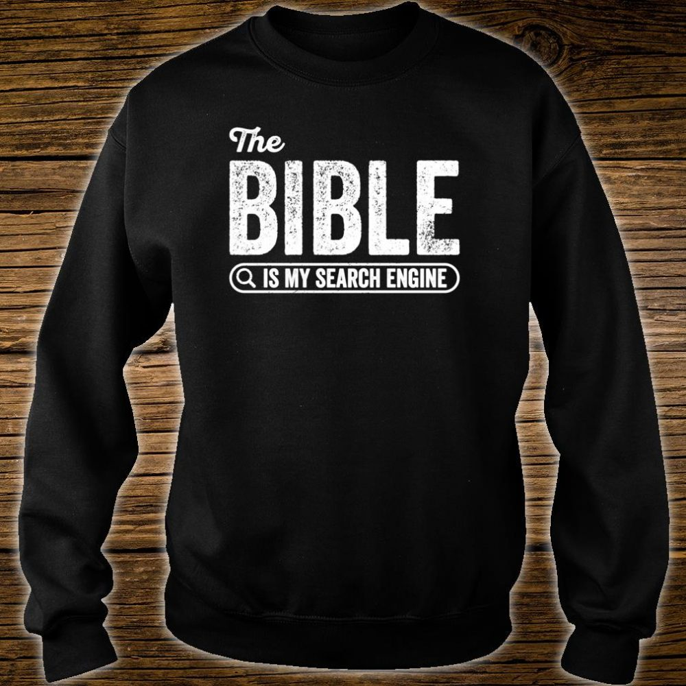The Bible Book for Evangelical Christian IT Shirt sweater