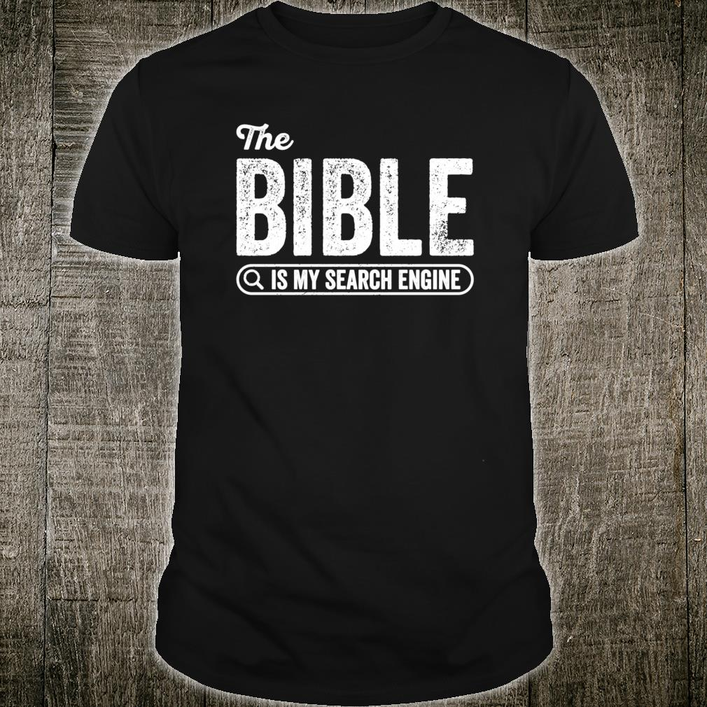 The Bible Book for Evangelical Christian IT Shirt