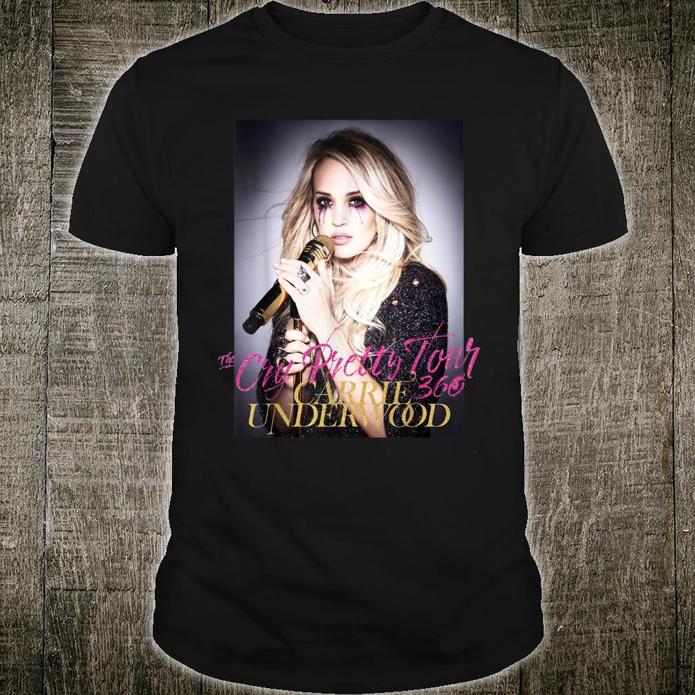 The Cry Pretty Tour Carrier Underwood Shirt