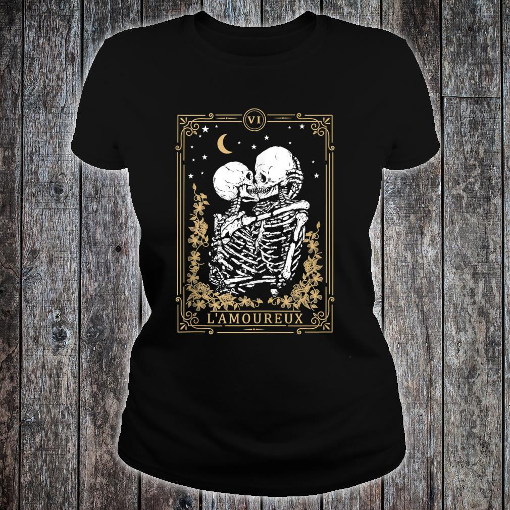Thes Vintage Tarot Card, Magic, Occult, Lamoureux Shirt ladies tee