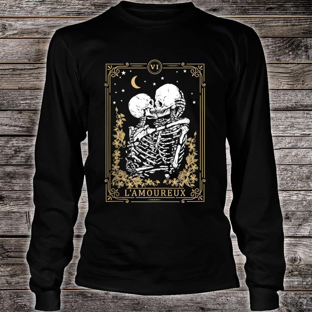 Thes Vintage Tarot Card, Magic, Occult, Lamoureux Shirt long sleeved