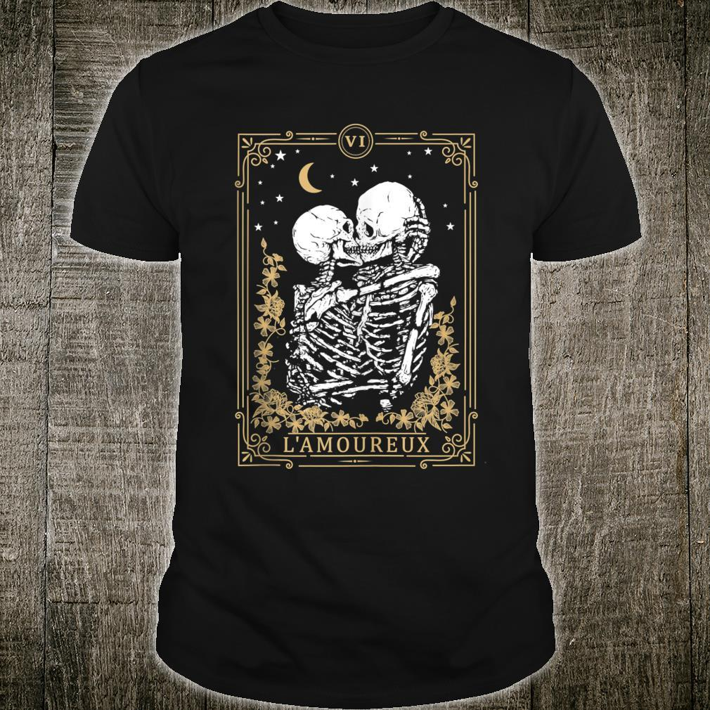 Thes Vintage Tarot Card, Magic, Occult, Lamoureux Shirt