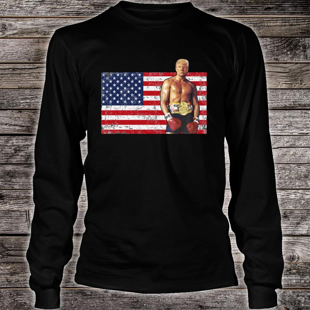 Trump Boxer American 2020 Shirt Long sleeved