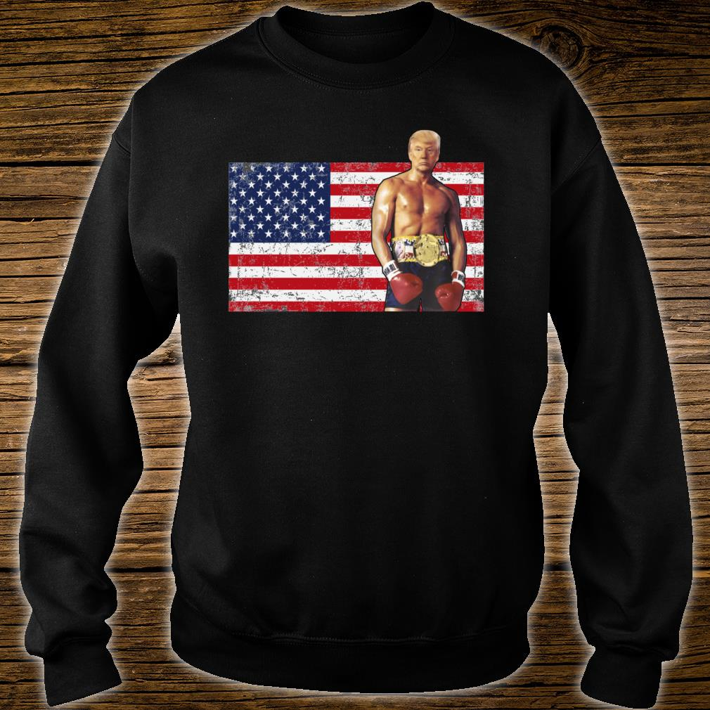 Trump Boxer American 2020 Shirt sweater