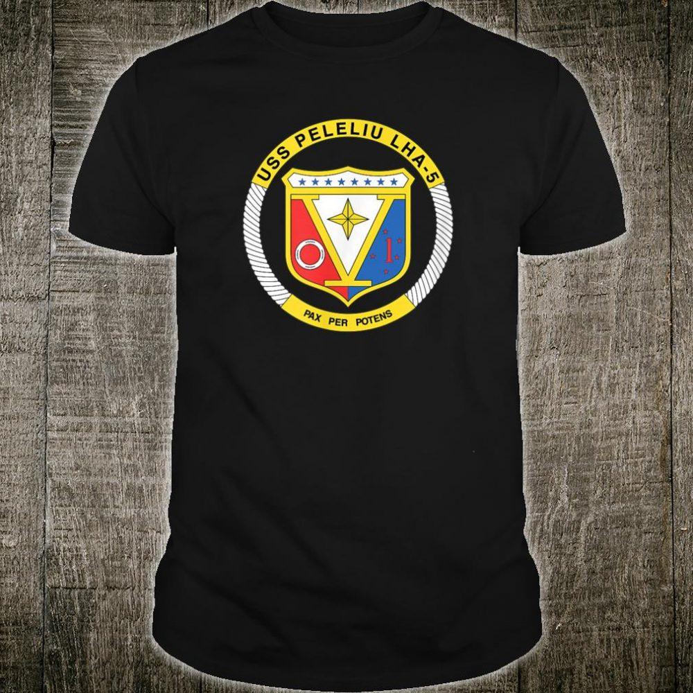 USS Peleliu (LHA-5) Crest Shirt