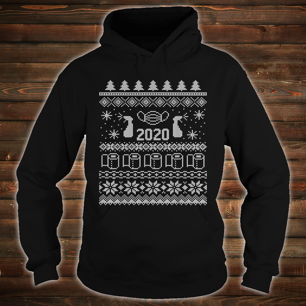 Ugly Christmas 2020 Toilet Paper Pandemic Shirt hoodie