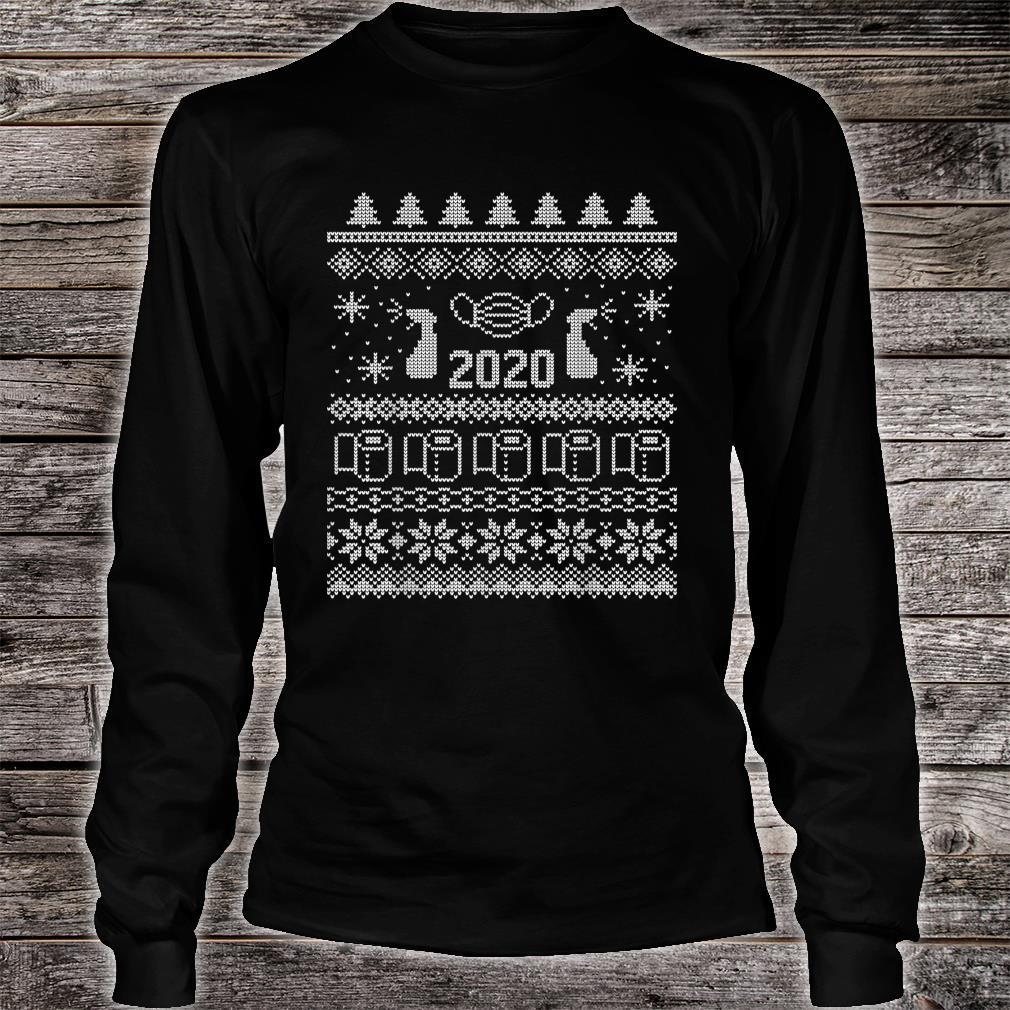 Ugly Christmas 2020 Toilet Paper Pandemic Shirt long sleeved