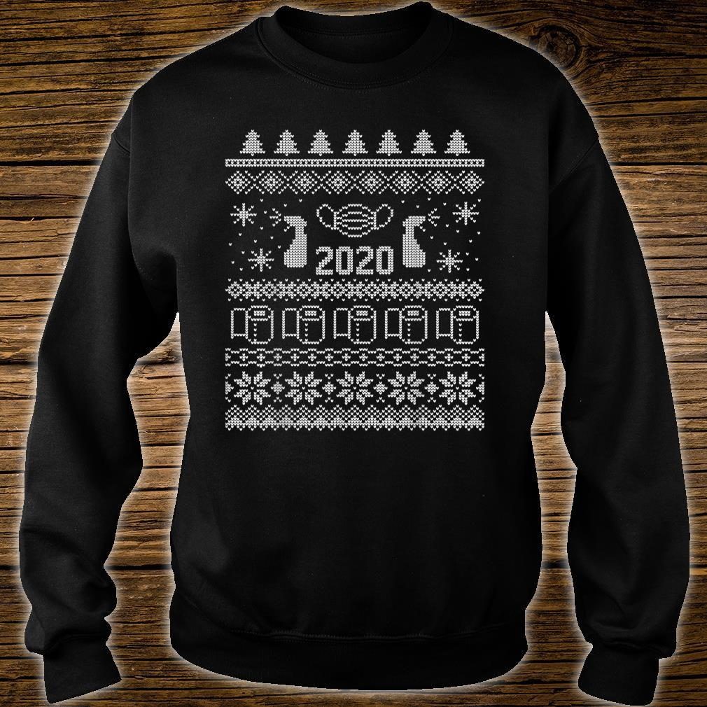 Ugly Christmas 2020 Toilet Paper Pandemic Shirt sweater