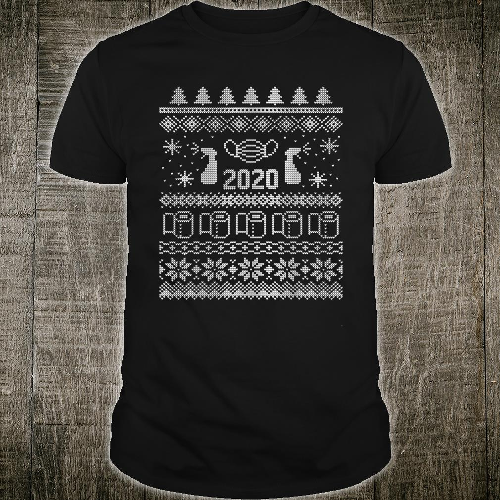 Ugly Christmas 2020 Toilet Paper Pandemic Shirt