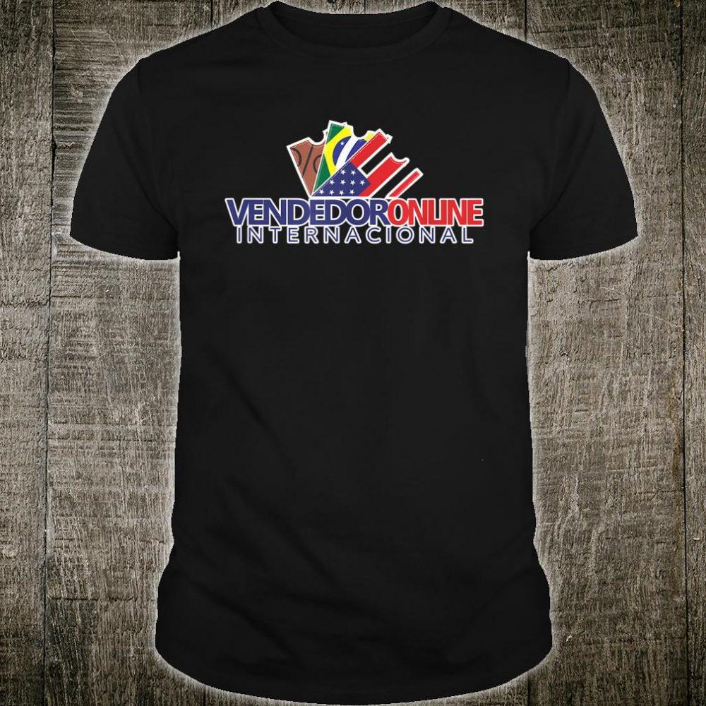 Vendedor Online Internacional Camiseta Promocional Shirt