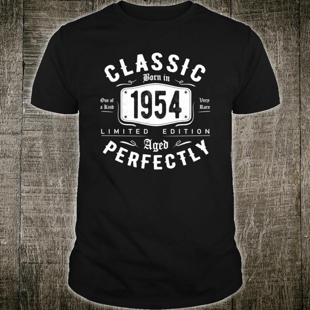 Vintage 1954 Classic 66th Birthday Perfectly Shirt