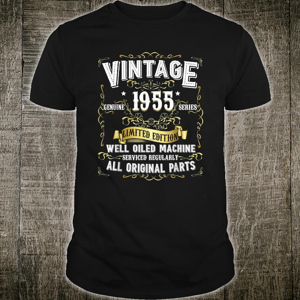 Vintage 1955 Limited Edition Well Oiled Machine Shirt