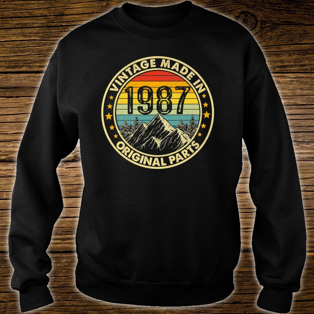 Vintage 1987 Limited Edition 34th Bday Shirt sweater