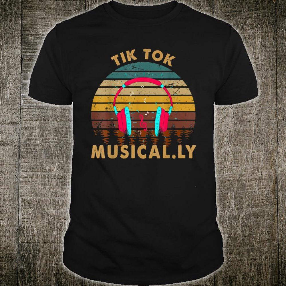 Vintage Tok-tik Dancing Musically DJ SKSKSK Christmas Shirt