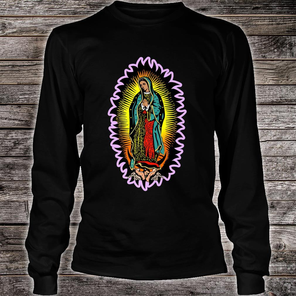 Virgin Mary Our Lady of Guadalupe Catholic Shirt long sleeved