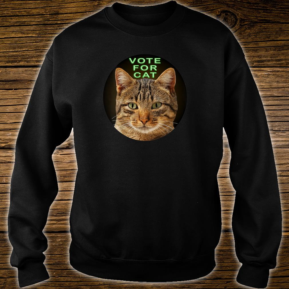 Vote For Cat Shirt sweater