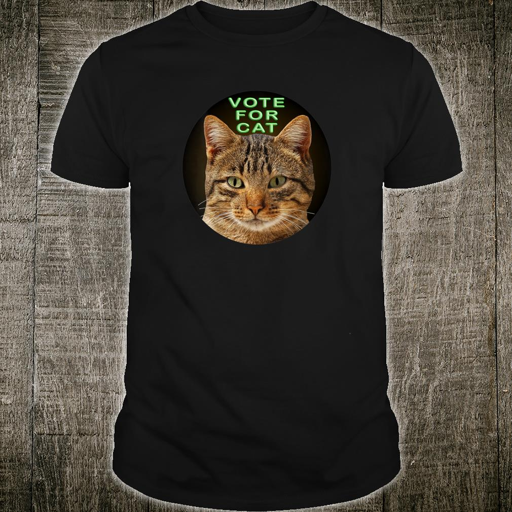 Vote For Cat Shirt