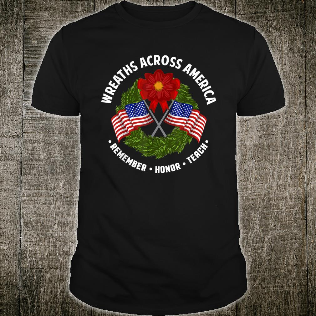 WREATHS ACROSS AMERICA PATRIOTIC Shirt