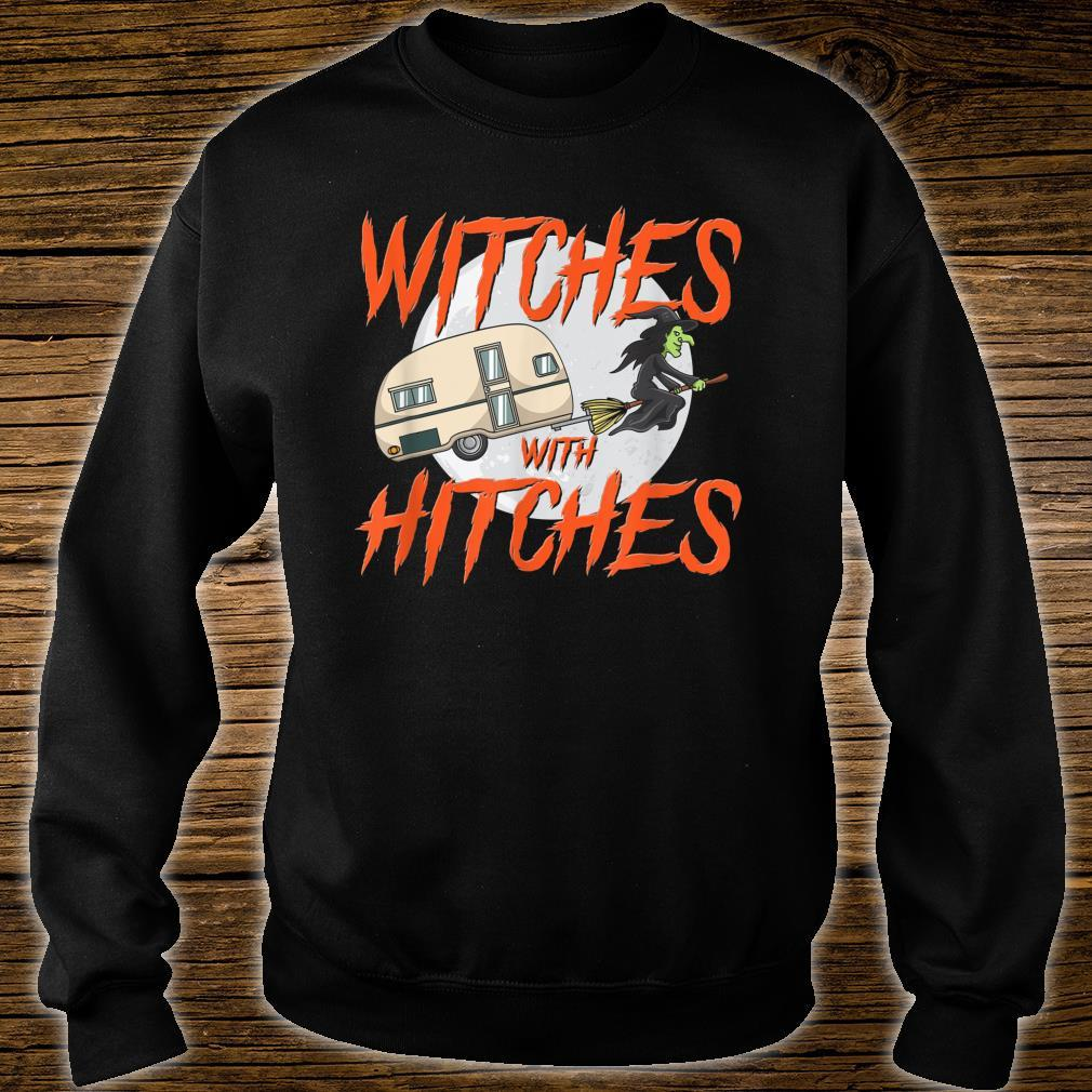 Witches With Hitches Camping Caravan Halloween Witch Shirt sweater