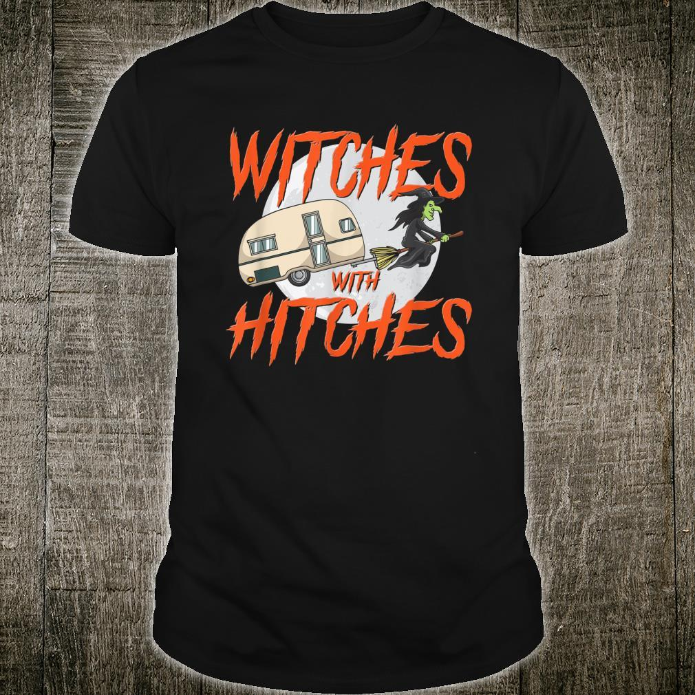 Witches With Hitches Camping Caravan Halloween Witch Shirt