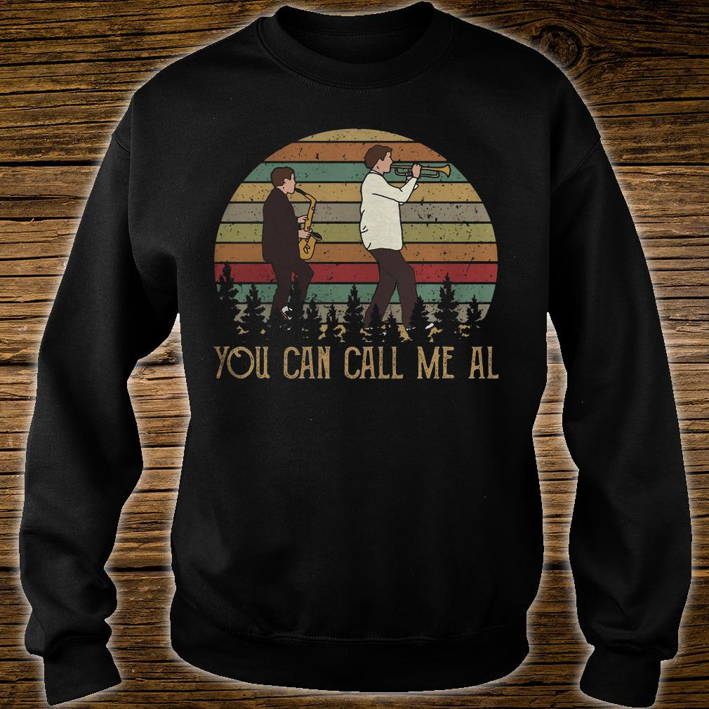 You Can Call Me Al shirt sweater
